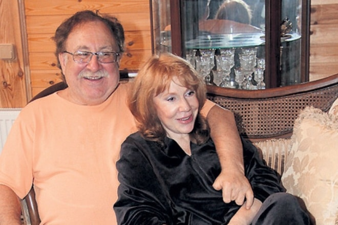 Кира Прошутинская с мужем Анатолием Малкиным