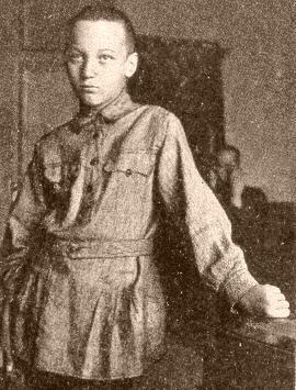 Николай Гумилев в детстве