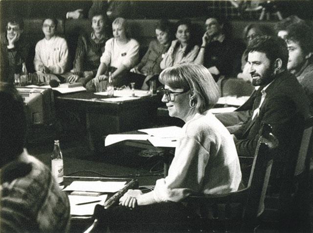 Кира Прошутинская в программе «Пресс-клуб»