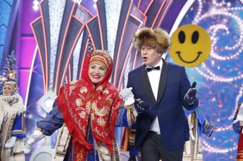 Дмитрий Губерниев в «Голубом огоньке»