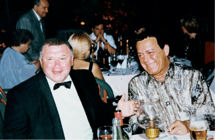 Валерий Борисович с Иосифом Давыдовичем Кобзоном