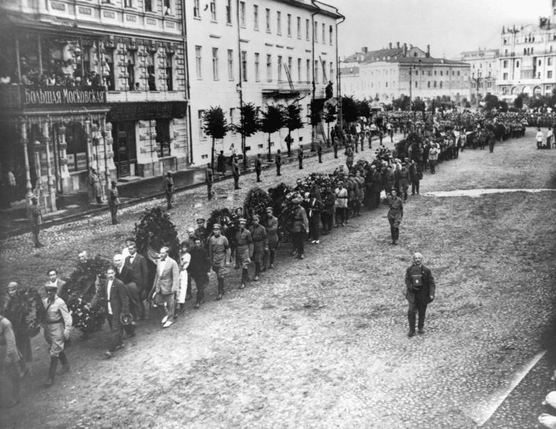 Похороны Феликса Дзержинского