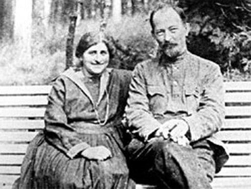 Феликс Дзержинский с Софьей Мушкат