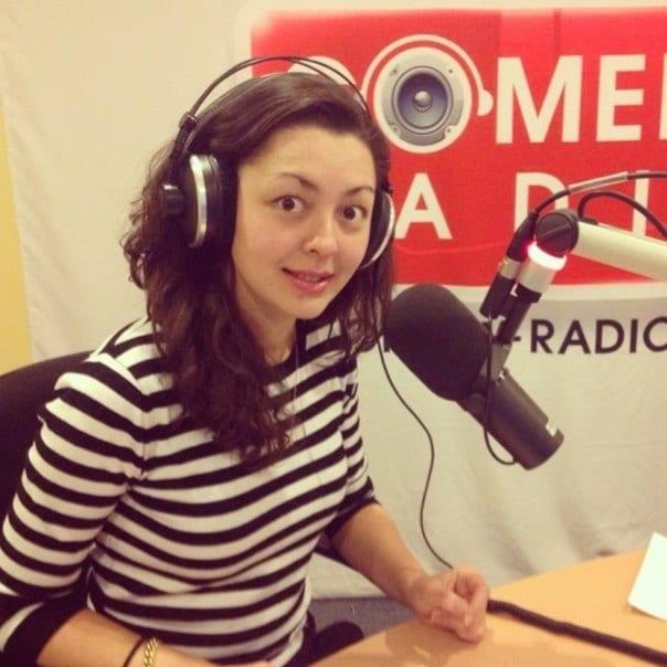 Марина Кравец на радио