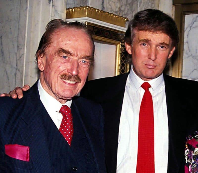 Дональд Трамп с отцом
