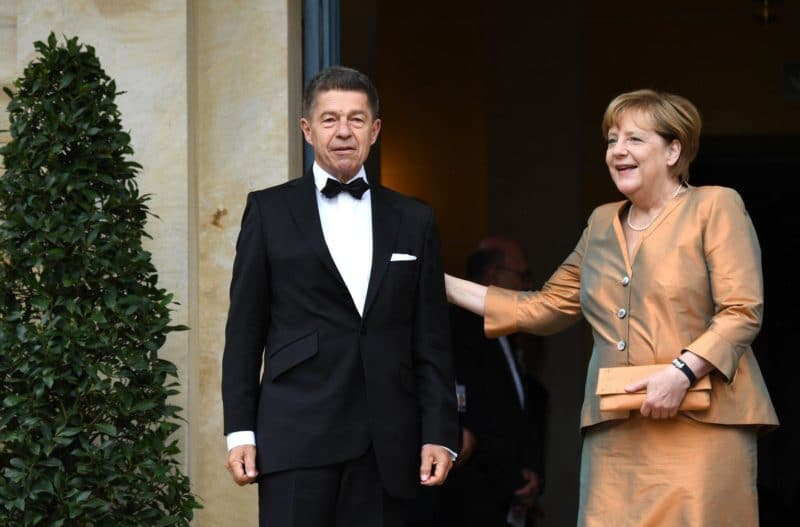 Ангела Меркель с Иоахимом Зауэра