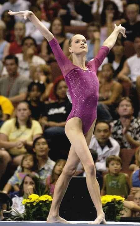 Светлана Хоркина в Олимпийских играх в 1996-м
