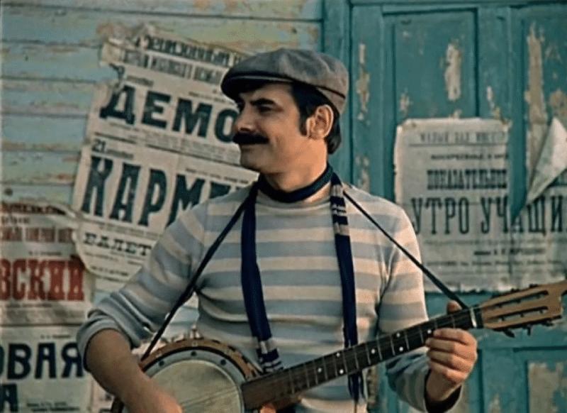 Александр Панкратов-Чёрный в фильме «Мы из джаза»