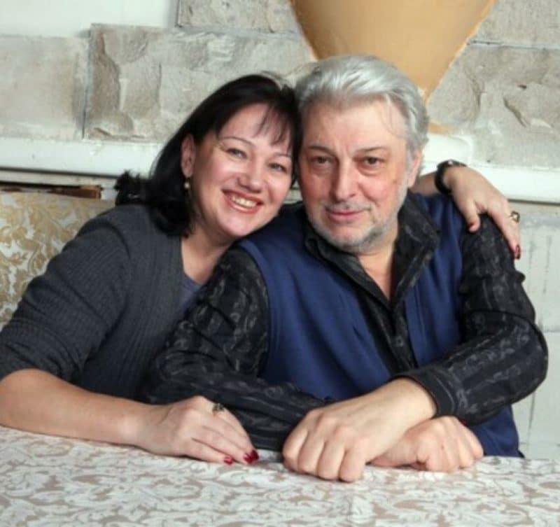 Вячеслав Добрынин с второй женой