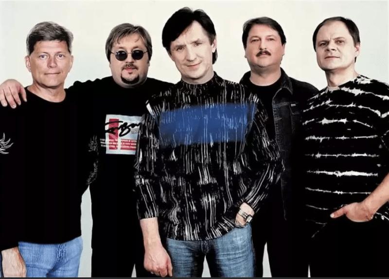 Сергей Дроздов с составом Синей птицы