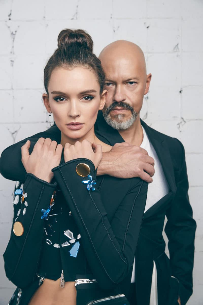 Паулина Андреева с Федором Бондарчуком