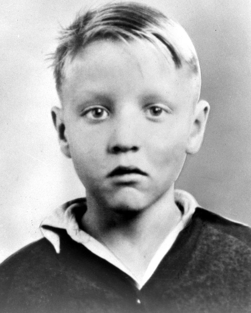 Элвис Пресли в детсте