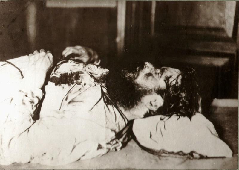 Убитый Григорий Распутин