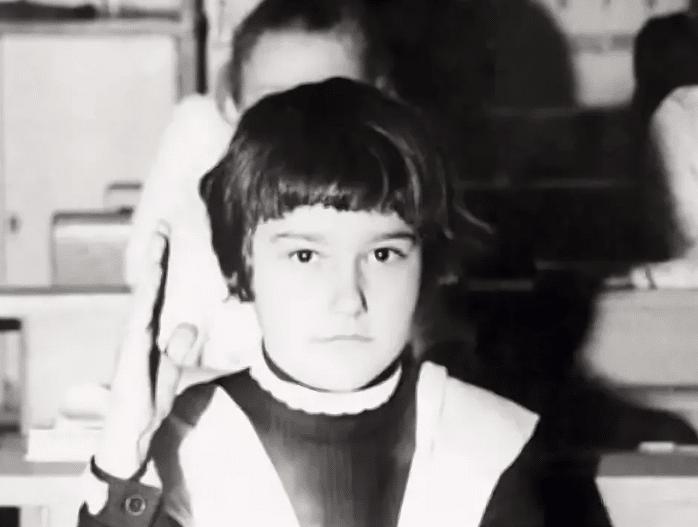 Анна Куркурина в детстве