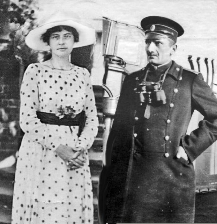 Александр Колчак с женой Софей