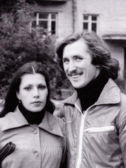 Сергей Дроздов с женой Ириной