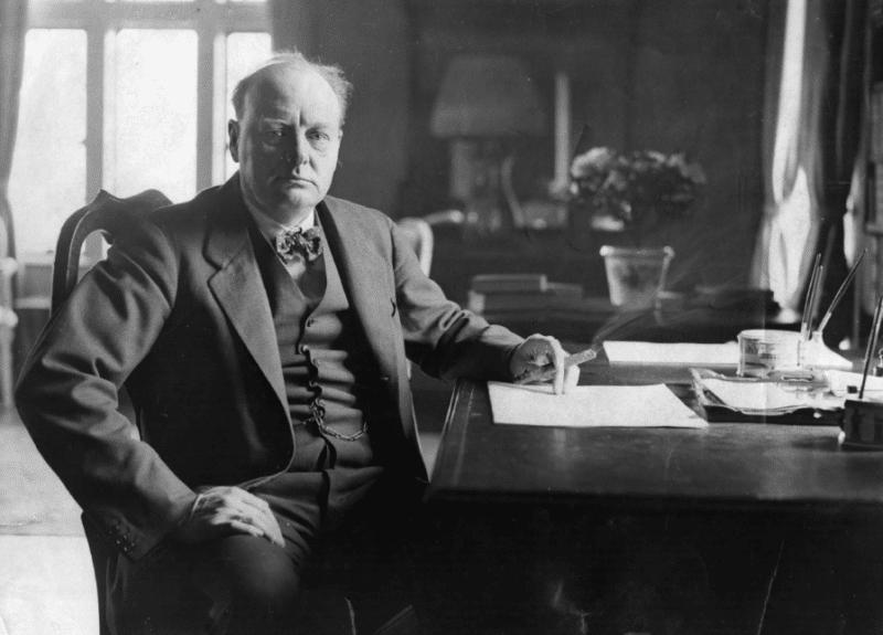 Уинстон Черчилль на посту премьер-министра