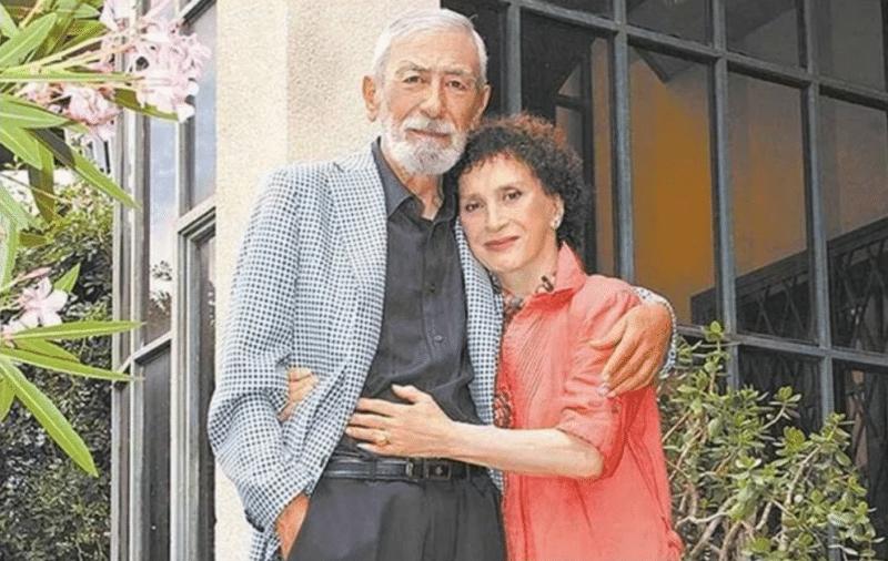 Вахтанг Кикабидзе с Ириной Кебадзе