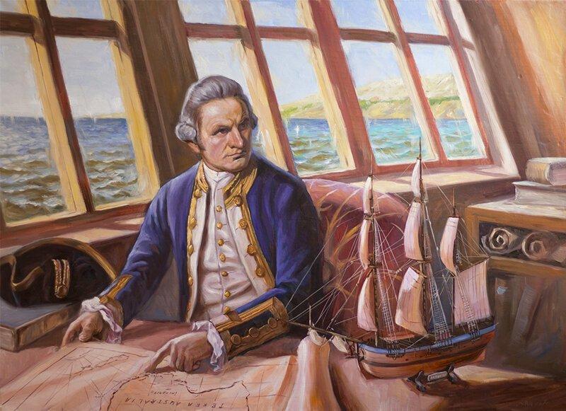Джеймс Кук в экспедиции
