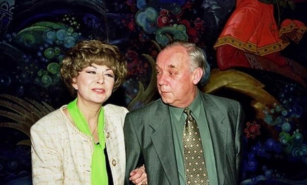 Эдита Пьеха и ее третий муж Владимир Поляков
