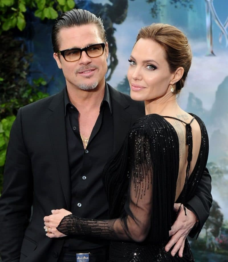 Брэд Питт с Анджелиной Джоли