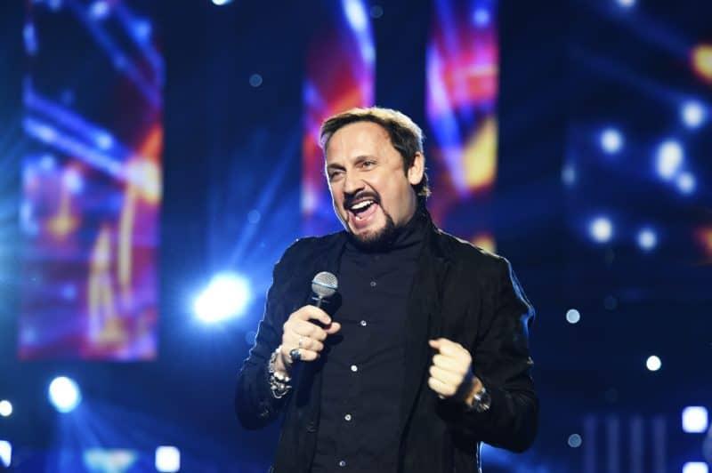 Стас Михайлов на концерте