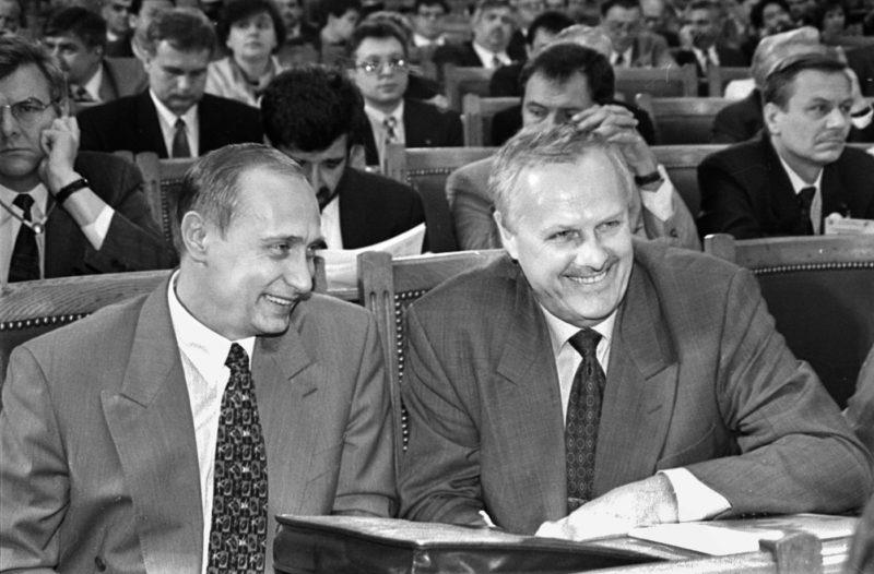 Анатолий Собчак с Путиным