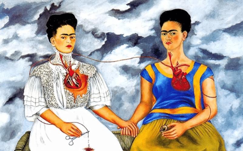 Картина Фриды Кало «Две Фриды»