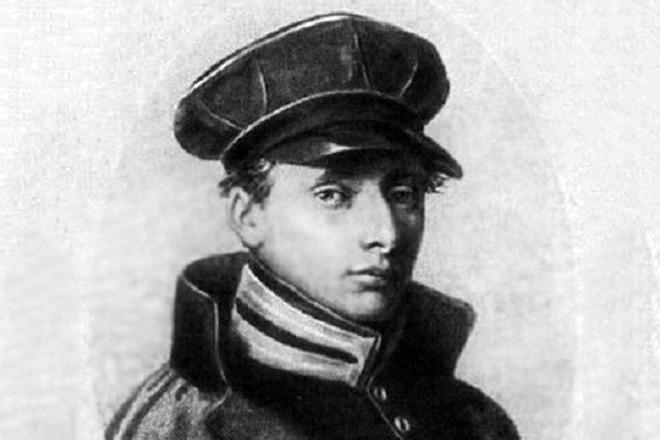 Владимир Даль в юности