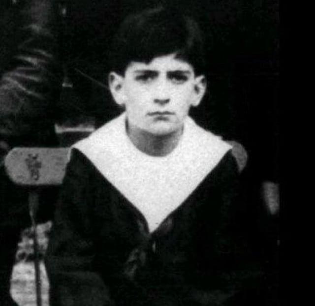 Луи де Фюнес в детстве