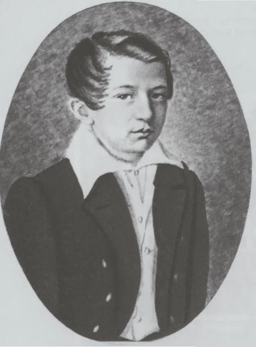 Иван Тургенев в детстве