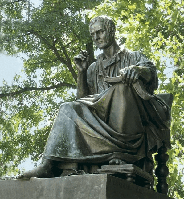 Памятник Жан-Жаку Руссо