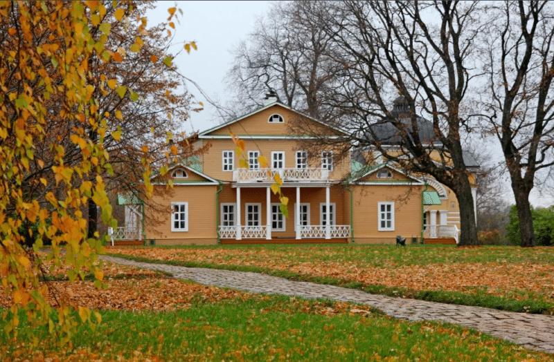 Усадьба Тарханы где жил Михаил Лермонтов