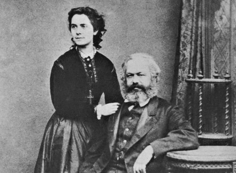 Карл Маркс с Женни фон Вестфален