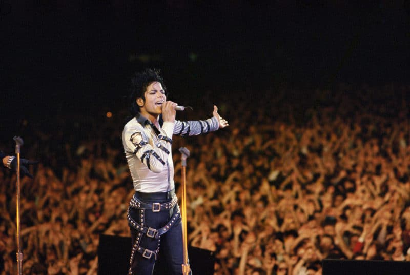 Майкл Джексон на концерте