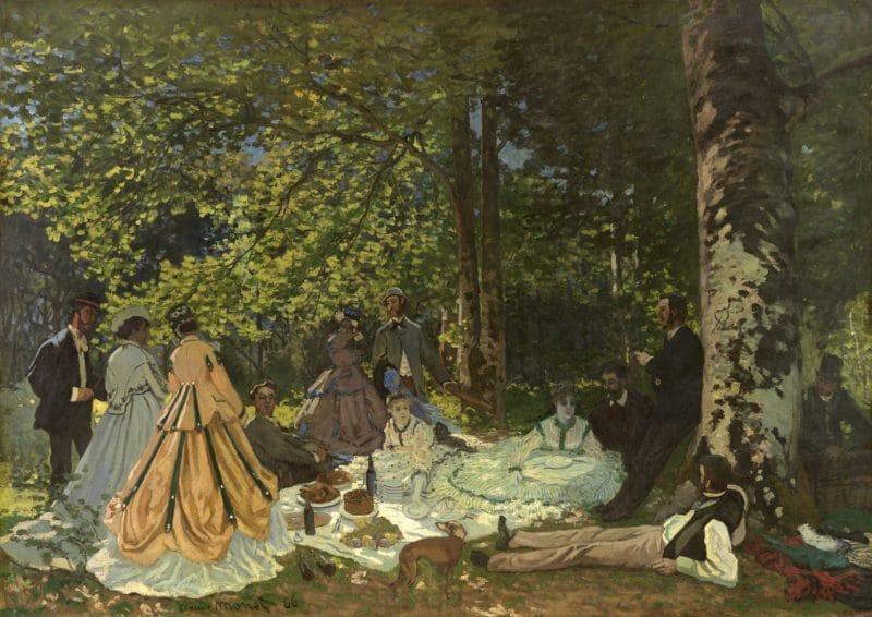 Картина Моне «Завтрак на траве»