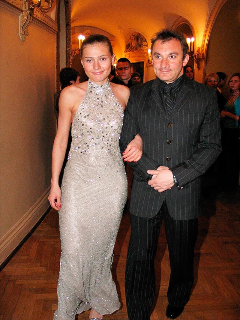 Николай Фоменко с Марией Голубкиной