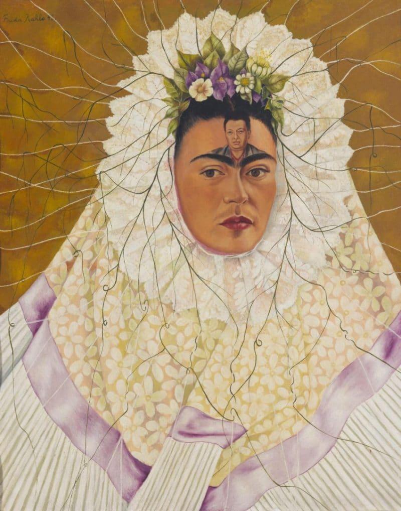 Фрида Кало «Автопортрет в образе Техуаны»
