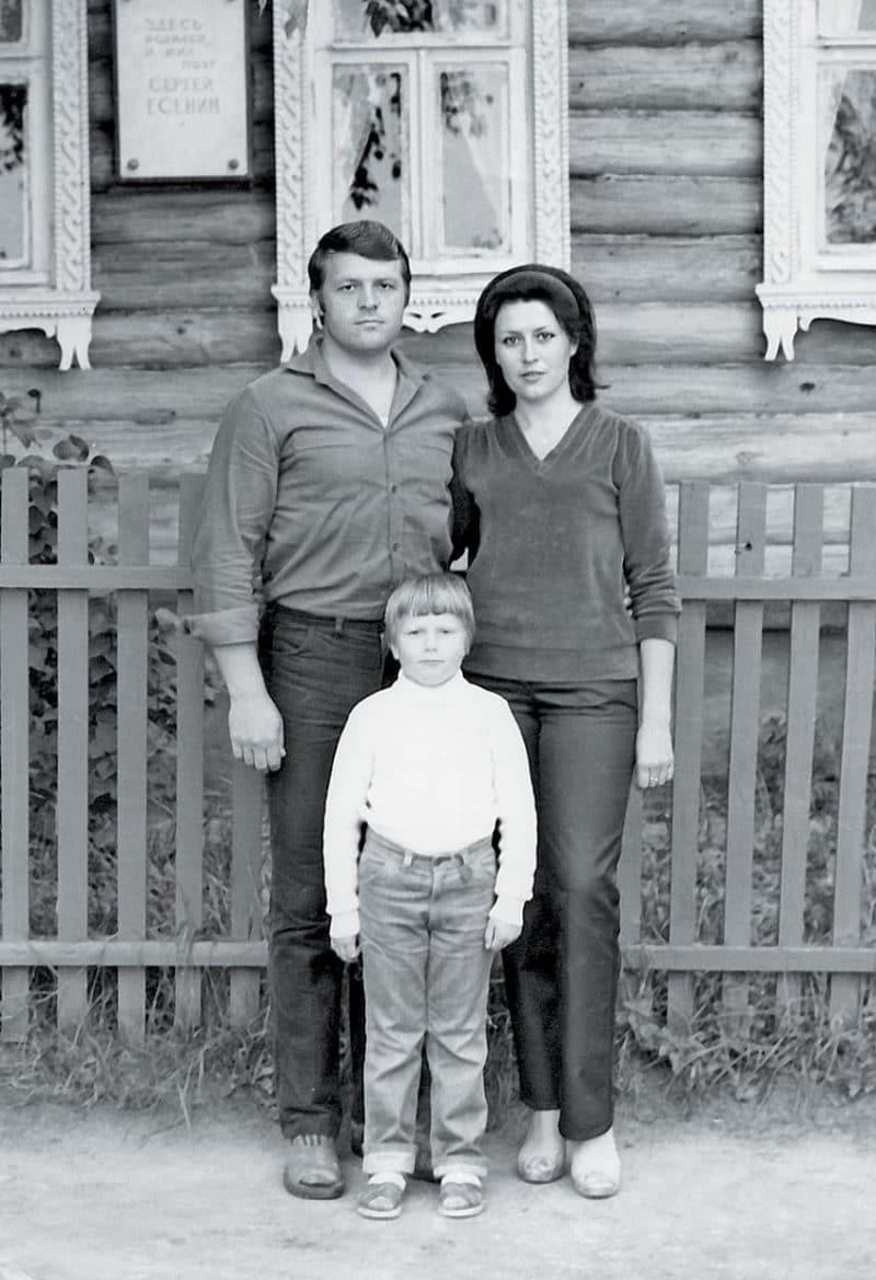 Николай Басков с родителями