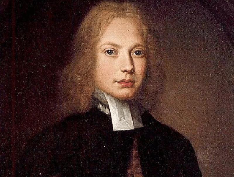 Портрет Джонатана Свифта в юности
