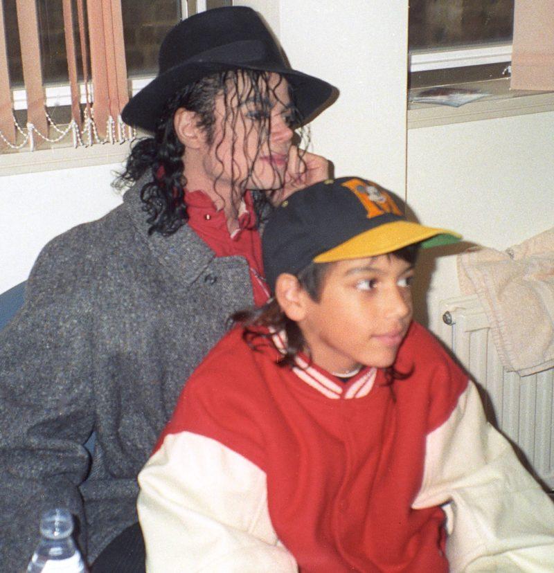 Майкл Джексон с Джорданом Чандлером