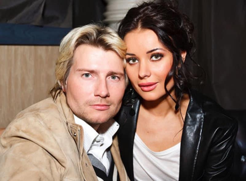 Николай Басков с Оксаной Федоровой