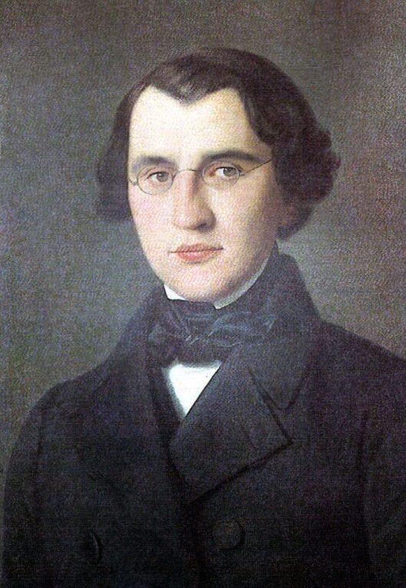 Портрет Ивана Тургенева в юности