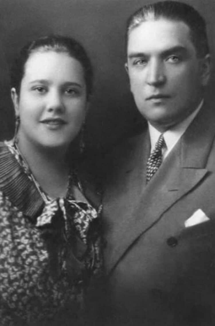 Сергей Михалков с Натальей Кончаловской