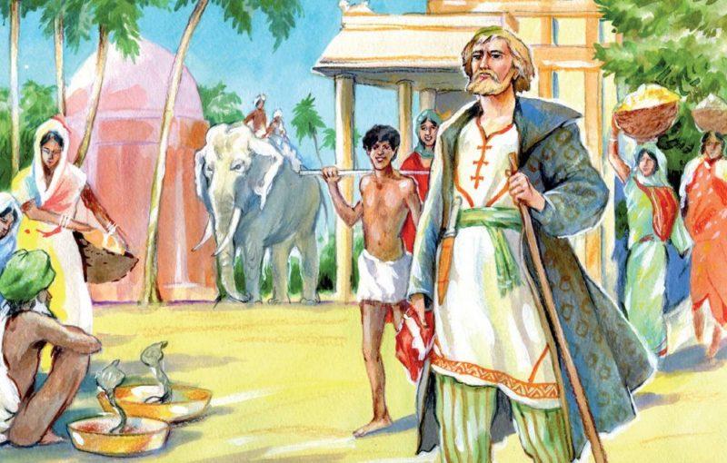 Афанасий Никитин в Индии