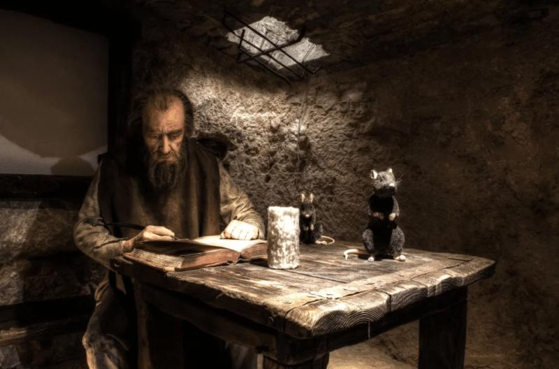 Марко Поло в тюрьме пишет книгу
