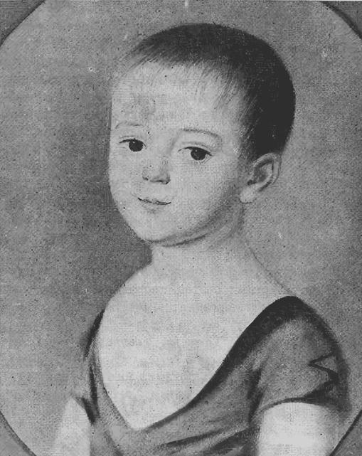 Портрет Тютчева в детстве