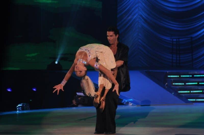 Татьяна Навка в конкурсе «Танцевальное Евровидение»
