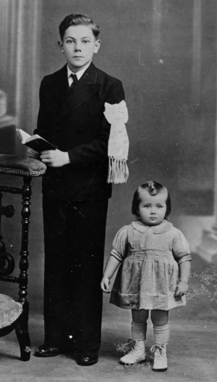 Эдита Пьеха с братом Юзефом