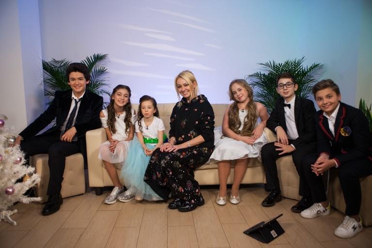 Детская десятка с Яной Рудковской
